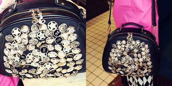 B791 IDR.178.000 MATERIAL PU SIZE L26XH21XW10CM WEIGHT 700GR COLOR BLACK