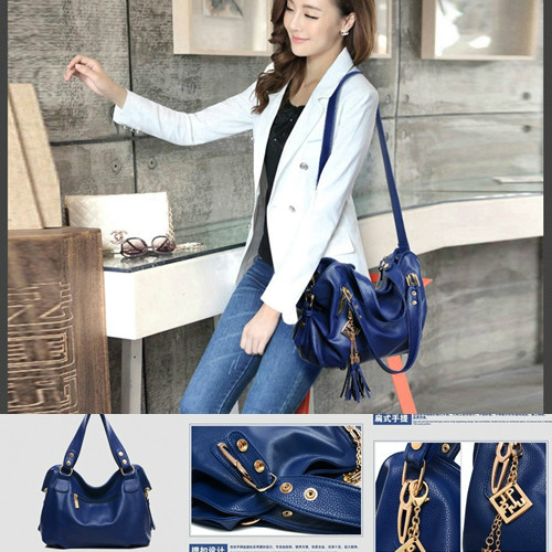 B792 IDR.203.000 MATERIAL PU SIZE L38XH28XW12CM WEIGHT 850GR COLOR BLUE