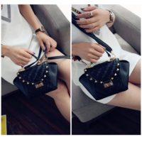 B8035 IDR.172.000 MATERIAL PU SIZE L16XH17XW9CM WEIGHT 600GR COLOR BLACK