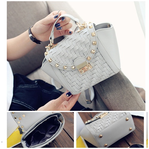 B8035 IDR.172.000 MATERIAL PU SIZE L16XH17XW9CM WEIGHT 600GR COLOR GRAY