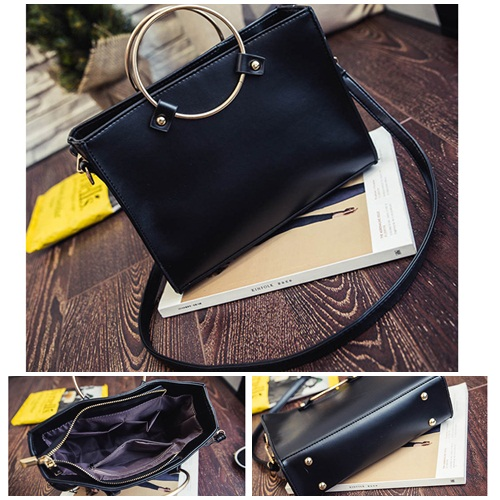 B8060 MATERIAL PU SIZE L26XH20XW8CM WEIGHT 600GR COLOR BLACK