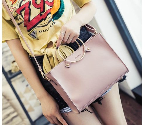B8060 MATERIAL PU SIZE L26XH20XW8CM WEIGHT 600GR COLOR PINK