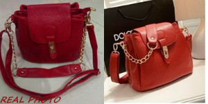 B8169 IDR.182.000 MATERIAL PU SIZE L25XH21X17CM, HAND STRAP 17CM WEIGHT 650GR COLOR RED