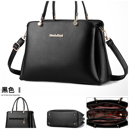 B8190 IDR.195.000 MATERIAL PU SIZE L30XH21XW13CM WEIGHT 800GR COLOR BLACK