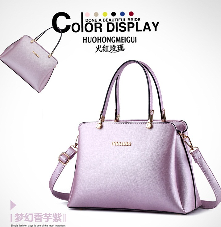 B8190 IDR.195.000 MATERIAL PU SIZE L30XH21XW13CM WEIGHT 800GR COLOR VIOLET