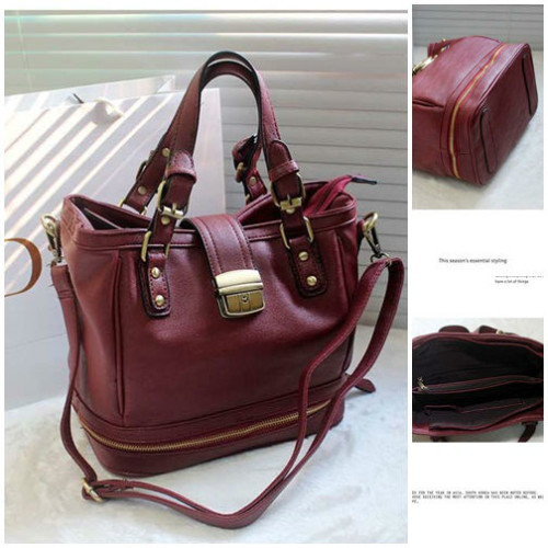 B8195  MATERIAL PU SIZE L32XH23XW17CM WEIGHT 820GR COLOR RED