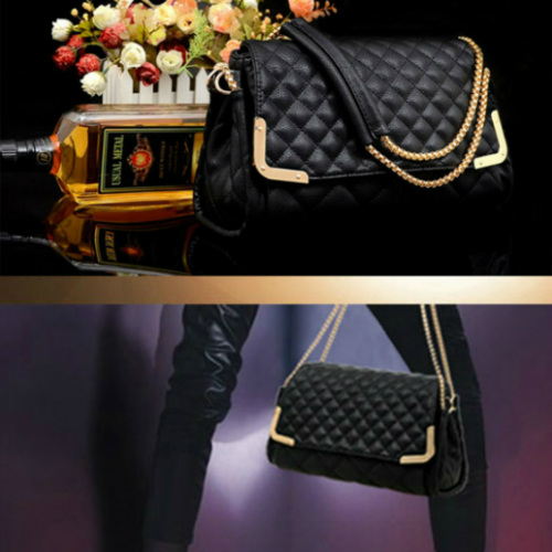 B8220 IDR.167.000 MATERIAL PU SIZE L29XH17XW9CM WEIGHT 950GR COLOR BLACK