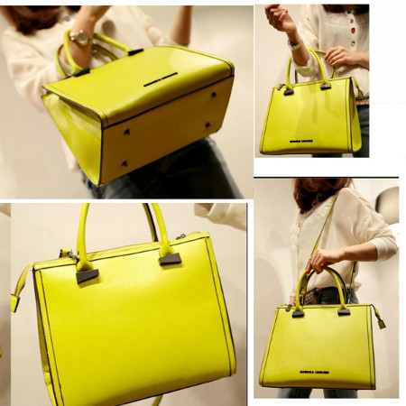 B8227 IDR.211.000 MATERIAL PU SIZE L31XH26XW14CM WEIGHT 910GR COLOR YELLOW