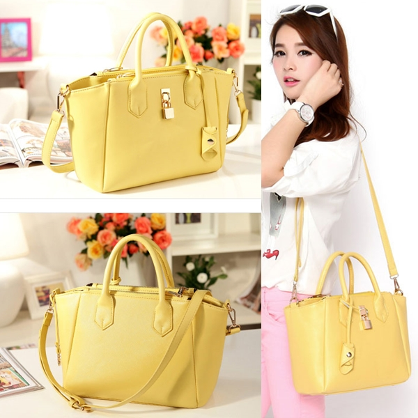B8239 IDR.202.000 MATERIAL PU SIZE L29XH23XW10CM WEIGHT 610GR COLOR YELLOW
