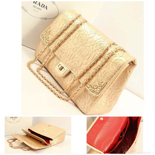 B8240 IDR.235.000 MATERIAL PU SIZE L31XH20XW10CM, STRAP 110CM WEIGHT 940GR COLOR GOLD