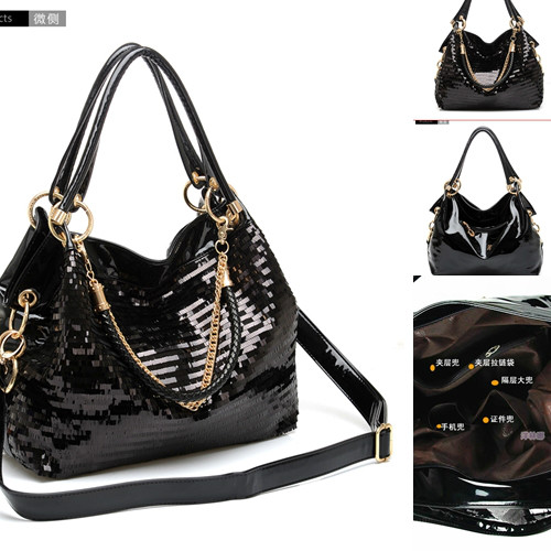 B825 IDR.189.000 MATERIAL PU+SEQUIN SIZE L35XH30CM WEIGHT 800GR COLOR AS PHOTO