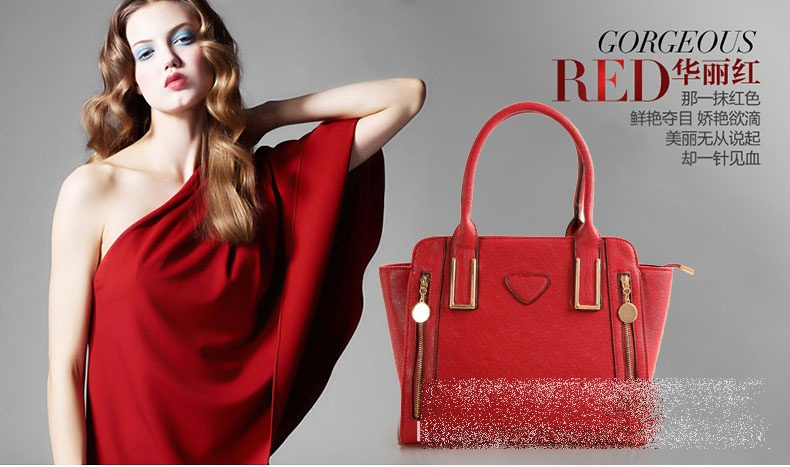 B8320 IDR.225.000 MATERIAL PU SIZE L38XH26XW11CM WEIGHT 950GR COLOR RED