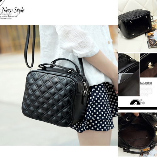 B8335 IDR.145.000 TAS FASHION MATERIAL PU SIZE L23XH29XW13CM WEIGHT 600GR COLOR BLACK