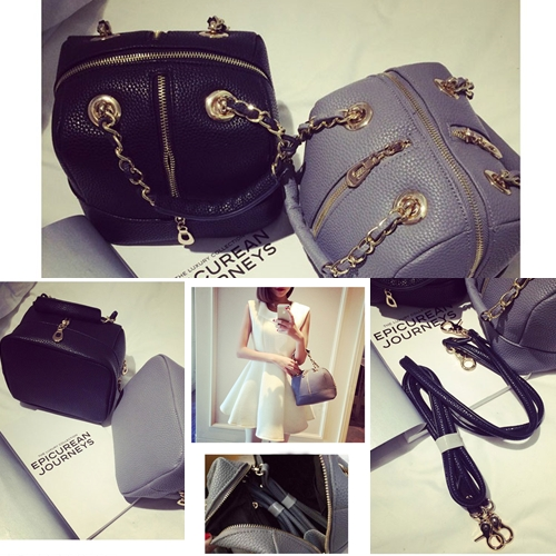 B8402 IDR.2O5.OOO MATERIAL PU SIZE L21XH16XW17CM WEIGHT 600GR COLOR BLACK