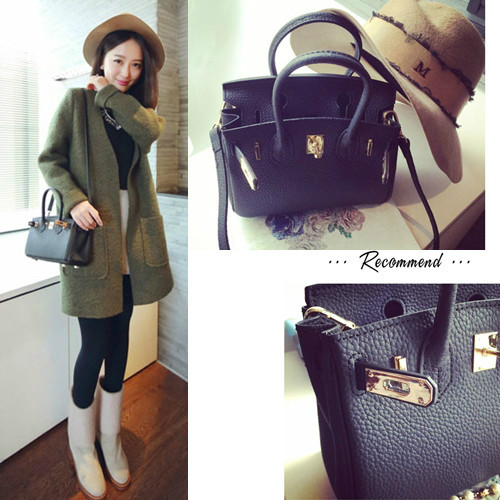 B8403 IDR.205.000 MATERIAL PU SIZE L23XH19XW13CM WEIGHT 700GR COLOR BLACK