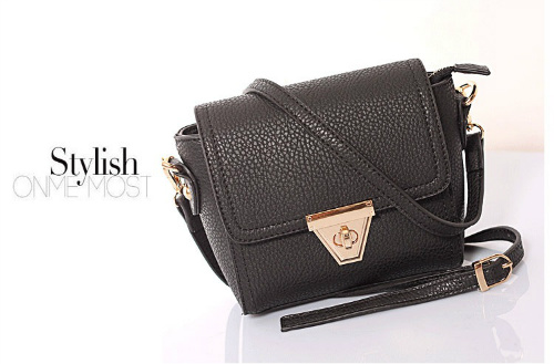 B8404 IDR.155.000 MATERIAL PU SIZE L18XH14XW6CM WEIGHT 450GR COLOR BLACK