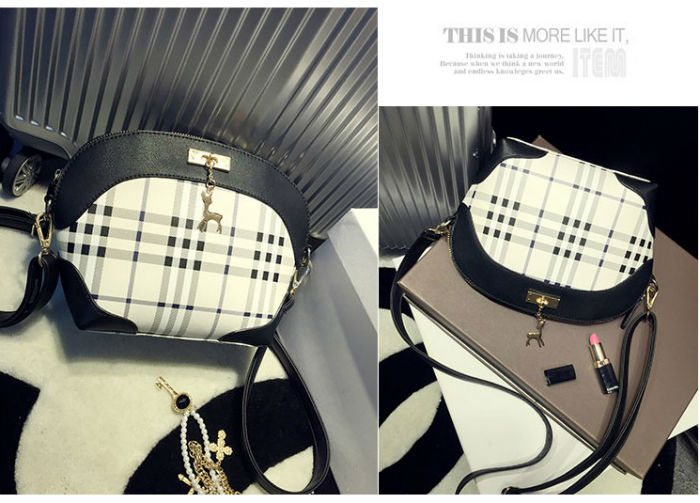 B8423 IDR.158.000 MATERIAL PU SIZE L27XH20XW9CM WEIGHT 550GR COLOR BLACK