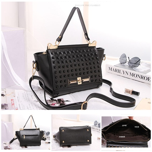 B8426 IDR.219.000 MATERIAL PU SIZE ;23XH19XW11CM WEIGHT 700GR COLOR BLACK