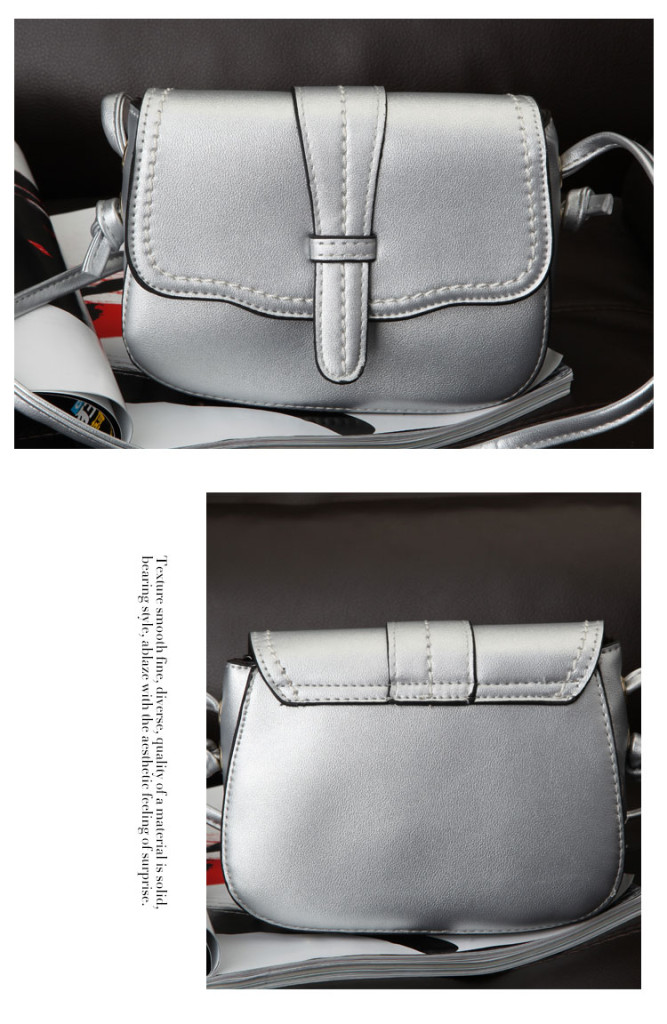 B8428 IDR.152.000 MATERIAL PU SIZE L19XH13XW7CM WEIGHT 450GR COLOR SILVER