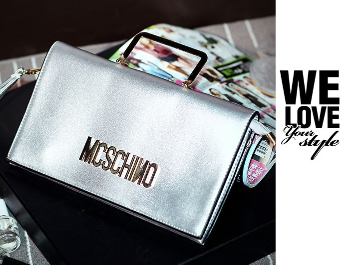 B8433 IDR.172.000 MATERIAL PU SIZE L28XH15XW2CM WEIGHT 700GR COLOR SILVER