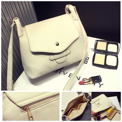 B8448 IDR.178.000 MATERIAL PU SIZE L29XH18XW11CM WEIGHT 450GR COLOR BEIGE