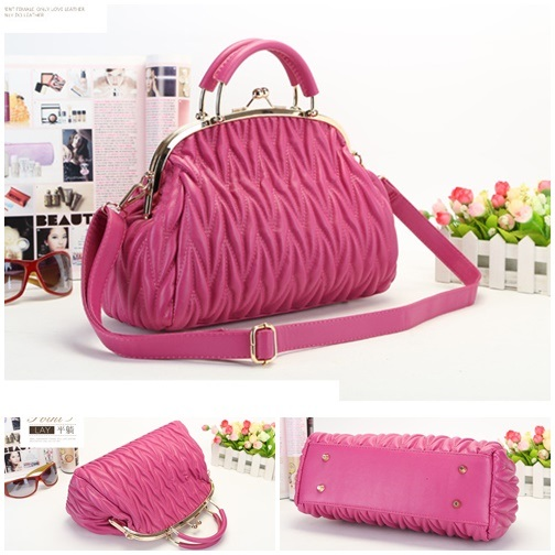 B848 IDR.205.000 MATERIAL PU SIZE L33XH19XW13CM WEIGHT 800GR COLOR ROSE