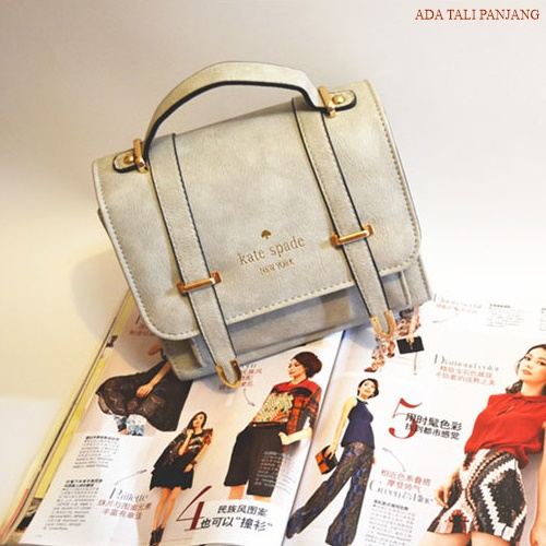 B8510 IDR.165.000 MATERIAL PU SIZE L21XH17XW11CM WEIGHT 650GR COLOR GRAY