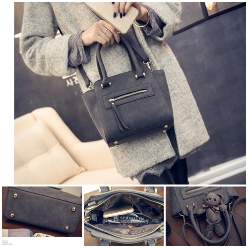 B8672 IDR.187.000 MATERIAL PU SIZE L20XH20-27XW9CM WEIGHT 750GR COLOR BLACK