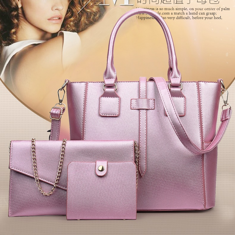 B8816-(3in1) IDR.220.000 MATERIAL PU SIZE L34XH26XW14CM WEIGHT 1000GR COLOR PINK
