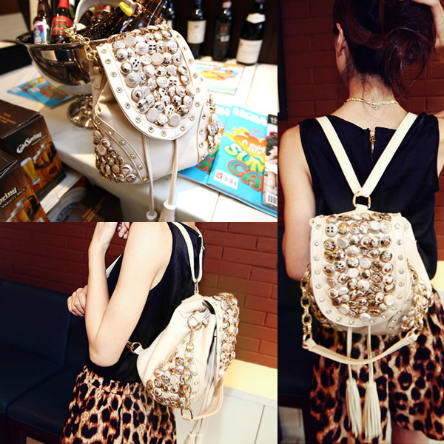 B9067 IDR.174.000 MATERIAL PU SIZE L29XH21CM WEIGHT 750GR COLOR BEIGE