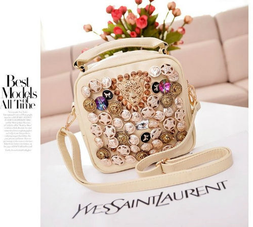 B9393  MATERIAL PU SIZE L22XH20XW10CM WEIGHT 650GR COLOR BEIGE