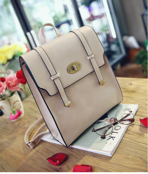 B94820 IDR.165.000 MATERIAL PU SIZE L25XH30XW10CM WEIGHT 750GR COLOR BEIGE