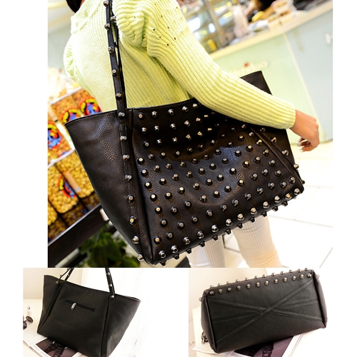 B9606 IDR.195.000 MATERIAL PU SIZE L36XH30XW18CM WEIGHT 800GR COLOR BLACK