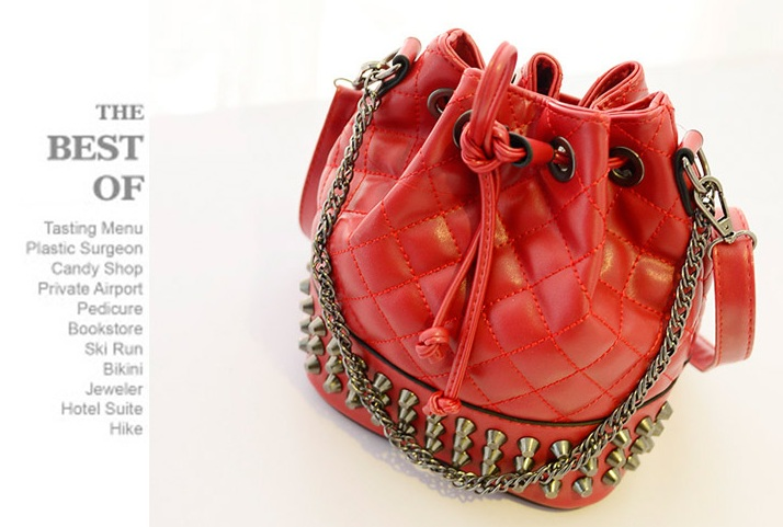B969 IDR.185.000 MATERIAL PU SIZE L21XH25XW15CM WEIGHT 600 COLOR RED