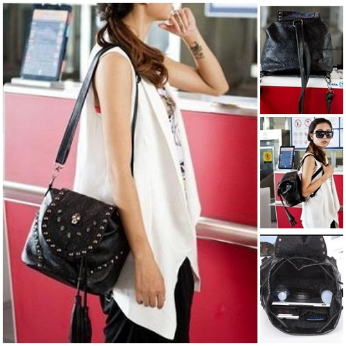 B9698 IDR.165.000 MATERIAL PU SIZE L31XH23XW17CM WEIGHT 680GR COLOR ASPHOTO