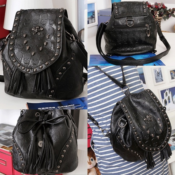 B425 IDR.165.OOO MATERIAL PU SIZE L31XH23XW17CM WEIGHT 680GR COLOR AS PHOTO (RANSEL & SELEMPANG)