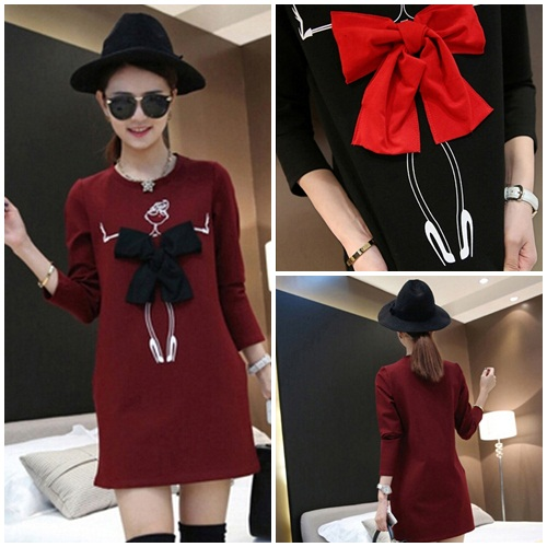 D001 IDR.129.000 MATERIAL COTTON-LENGTH79CM,BUST92CM WEIGHT 280GR COLOR RED