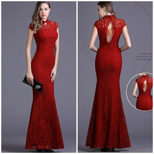 D22586 IDR.149.000 MATERIAL LACE-LENGTH130CM,BUST90CM WEIGHT 300GR COLOR RED
