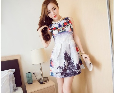 D34503 IDR.145.000 MATERIAL COTTON LENGTH80CM BUST88CM-WAIST70CM WEIGHT 300GR COLOR RED