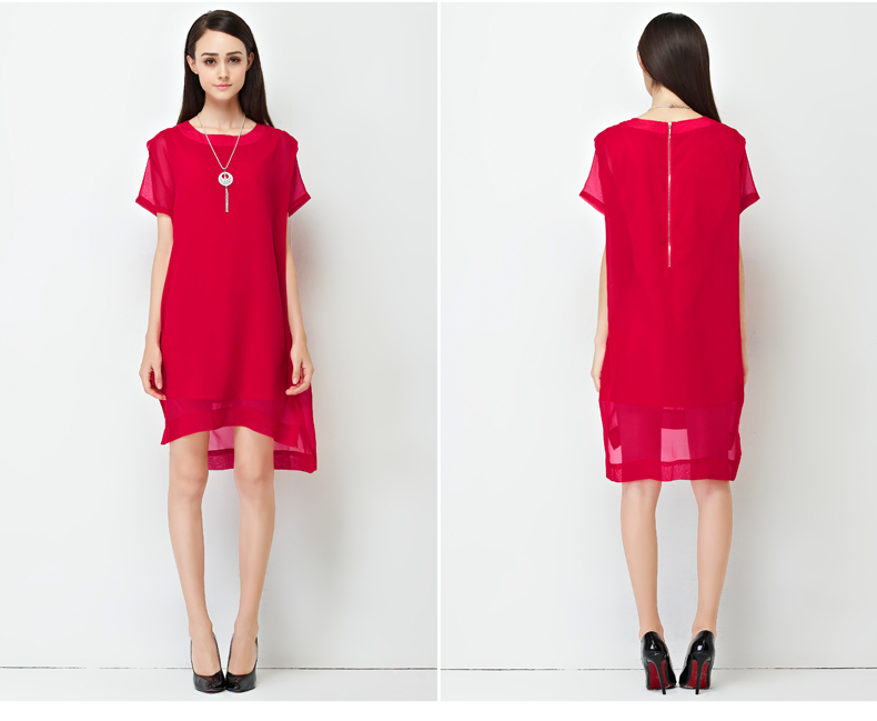 D41603-WITH-NECKLACE IDR.191.000 MATERIAL POLYESTER SIZE M,L-LENGTH102CM,103CM-BUST90CM,94CM WEIGHT 250GR COLOR RED