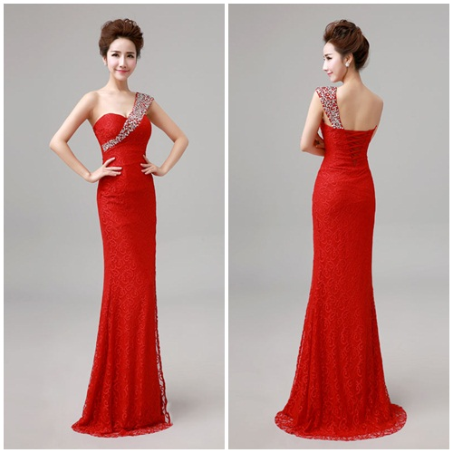 D48232 IDR.163.000 MATERIAL LACE-LENGTH135CM,BUST90CM WEIGHT 350GR COLOR RED