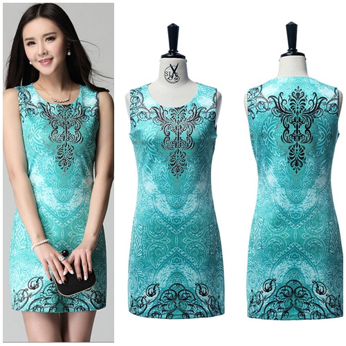 D5015 IDR.160.000 MATERIAL HIGHCOTTON SIZE M,L-LENGTH81CM,82CM-BUST88CM92CM WEIGHT 300GR COLOR GREEN