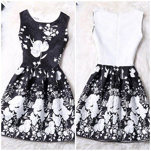 D50971 IDR.110.000 MATERIAL POLYESTER-SIZE-M-LENGTH81CM-BUST86CM WEIGHT 250GR COLOR BLACK