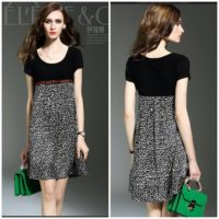 D56186 MATERIAL SILK LENGTH84CM BUST88CM WEIGHT 250GR COLOR BLACK