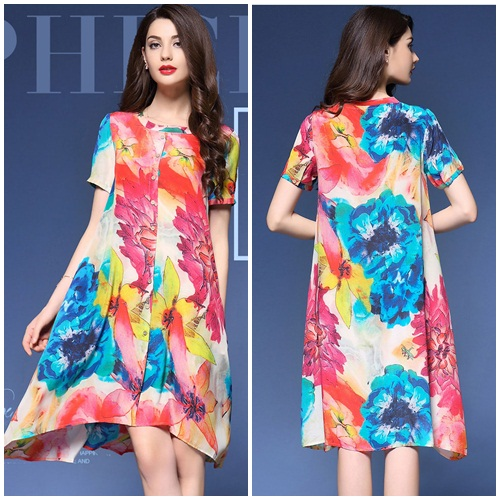D56879 MATERIAL SILK SIZE M