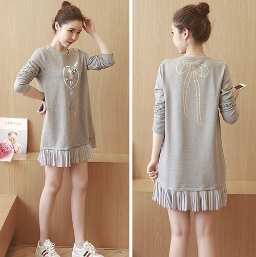 D65258 IDR.137.000 MATERIAL COTTON LENGTH84CM BUST96CM WEIGHT 250GR COLOR GRAY