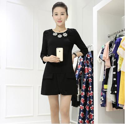 D8698-(INC-NECKLACE) IDR.144.000 MATERIAL COTTON-SIZE-M,L-LENGTH79CM,80CM-BUST84CM,88CM WEIGHT 300GR COLOR BLACK-(ONLY SZ M)
