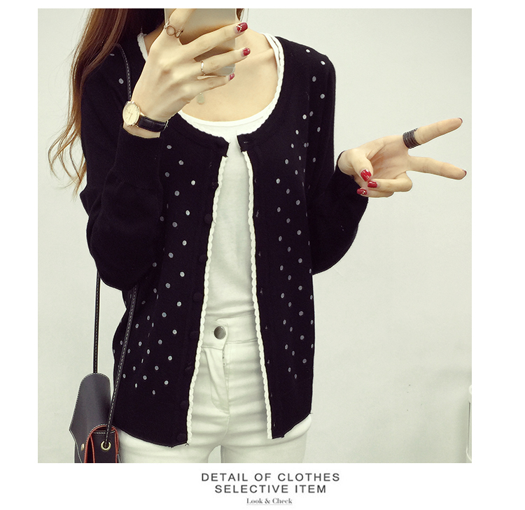 J49347 IDR.112.000 MATERIAL SWEATER-LENGTH54CM,BUST80-115CM WEIGHT 300GR COLOR BLACK