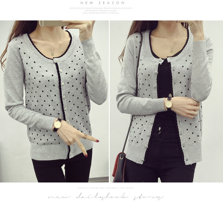 J49347 IDR.112.000 MATERIAL SWEATER-LENGTH54CM,BUST80-115CM WEIGHT 300GR COLOR GRAY