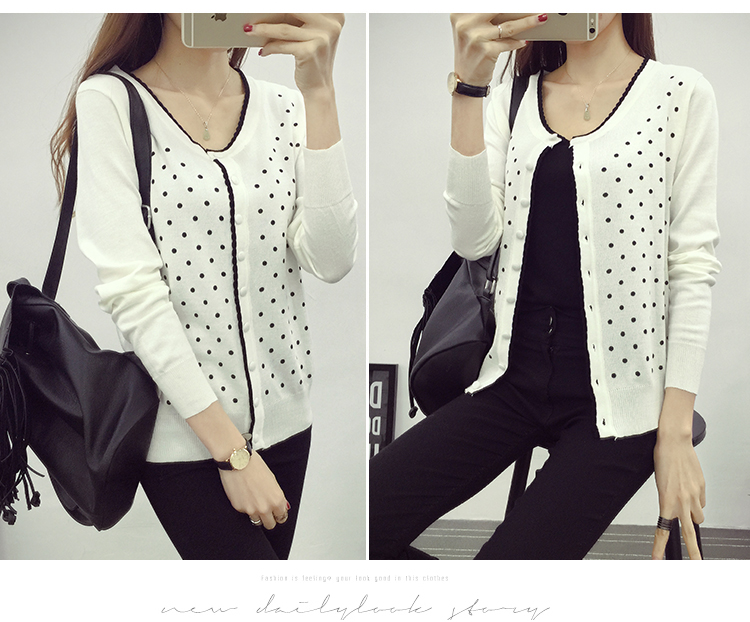 J49347 IDR.112.000 MATERIAL SWEATER-LENGTH54CM,BUST80-115CM WEIGHT 300GR COLOR WHITE